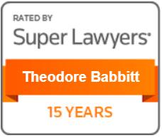 15-Years-Super-Lawyers-Theodore-Babbitt